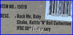 12 FRRock Me Baby Rayna Dressed DollShake Rattle'N' Roll2012 IFDCLE300NIB