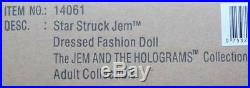 12 FRStarstruck Jem Dressed DollJem And The HologramsNIBNRFB
