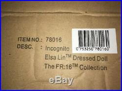 16 Integrity Toys FR16 Incognito Elsa Lin Mint NRFB withShipper Box