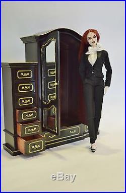 16 Scale Furniture for Fashion Dolls Action Figures 23075 DMG Wardrobe/Dresser