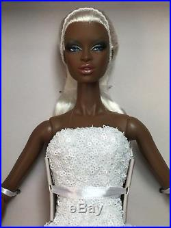 2017 Fashion Fairytale Convention Frosted Glamour Adele Makeda Dressed Doll