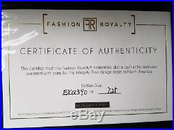 2017 Fashion Royalty La Femme Collection Exquise Adele dressed doll NRFBshipper