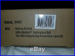2018 Fashion Royalty Luxe Life Walking on Gold Adele Doll Free Shipping