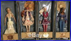 2018 IFDC Convention All 4 Poppy Parker Dolls Complete Set NRFB LE 500
