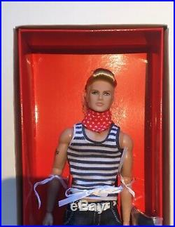ALL AMERICAN AUDEN MIB -Dynamite Girls Male Homme doll Love Revolution