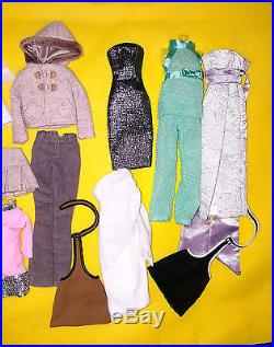 All Fashion Royalty Poppy Parker Chip Doll & Clothes Partial Outfit Lot #1