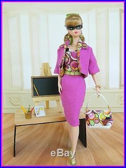 ºBig BangºOOAK Teacher Fashion Silkstone/Vintage Barbie/Fashion RoyaltyJoby