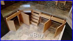 Corner Kitchen A Hand Crafted 16 Scale Diorama Room Box 042