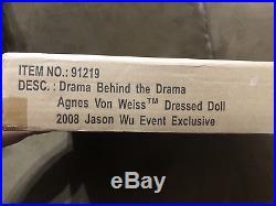 Drama Behind The Drama Agnes- Fashion Royalty- Jason Wu 2008 Event NRFB LE 450