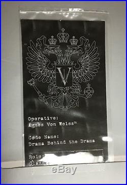 Drama Behind the Drama Agnes Von Weiss Integrity Toys Fashion Royalty doll NRFB