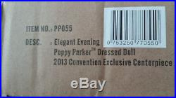 ELEGANT EVENING Poppy Parker 2013 Convention Centerpiece Integrity Toys NRFB