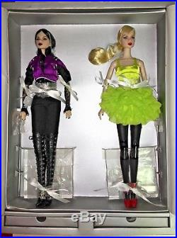 Elements of Surprise Lillith and Eden Integrity Toys Nu Face dolls NRFB with stain