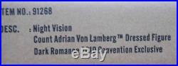 FRNight Vision Adrian Von Lamberg Dressed FigureDark Romance ConventionNIB