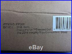 FR Wild Thing Poppy Parker Fashion Royalty Doll 2014 Integrity Toys GLOSS Con