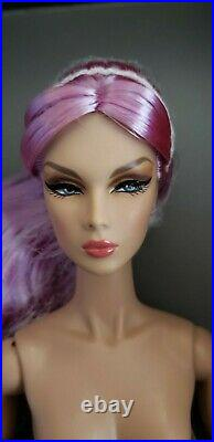 Fashion Royalty Doll Nu Face FR Mademoiselle Eden Blair 2019 W Club with stand+COA