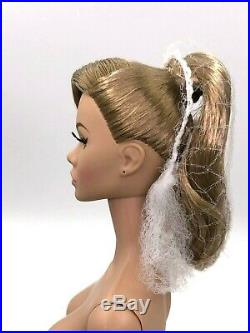 Fashion Royalty Friend or Foe Poppy Parker Integrity Toys Nude Doll FR White