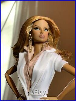 Fashion Royalty Going Public Eugenia Doll 2009 W Club, partial items & COA