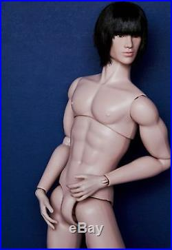 Fashion Royalty Homme / 2014 Gloss Convetion Tenzin / Nude Doll Only / Mint
