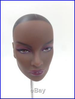 Fashion Royalty Integrity Doll Jordan Platinum head with Dark A Skin Body