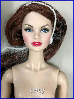 Fashion Royalty Integrity Doll NU. Face Erin in Rouges New Japan Skin Nude Doll