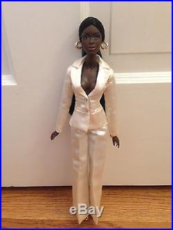 Fashion Royalty Integrity Le Smokin Adele dressed doll