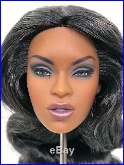 Fashion Royalty Integrity Toys Adele Makeda Glamazon Doll Head FR Black