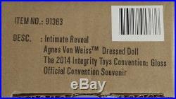 Fashion Royalty Intimate Reveal Agnes Nude LE 500 HTF EUC Integrity Toys 2014