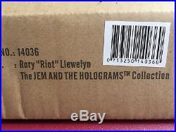 Fashion Royalty Jem and Holograms Rory Riot Llewelyn Homme Male Doll NRFB NIB FR