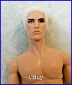Fashion Royalty Nuface Style Strategy Lukas Maverick 13 Nude Male Doll