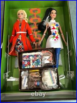Fashion Royalty Poppy Parker Double Agents Integrity Toys Giftset Dressed Doll