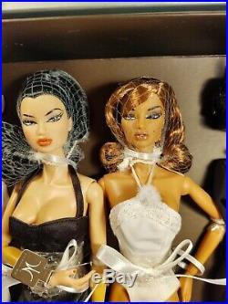 Integrity Toys Fashion Royalty Black as Night Natalia and Kyori Giftset NRFB
