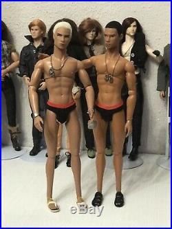 Integrity Toys Fashion Royalty Homme 2006 Male Doll YIN YANG BUNDLE