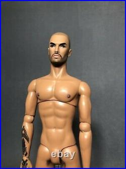 Integrity Toys Fashion Royalty NUFACE Tantric LUKAS NUDE Homme