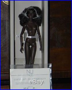 Integrity Toys Fashion Royalty Nu Face I Slay Nadja R Nude Doll