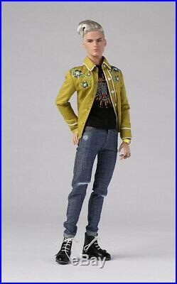 Integrity Toys Homme Lovesick Coll. Hot to Touch Bellamy Blue NRFB RARE DOLL