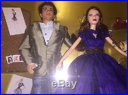 LESS THAN 1,000 MADE NRFB PLATINUM Lbl 2006 Barbie & Ken Designer Zac Posen HTF