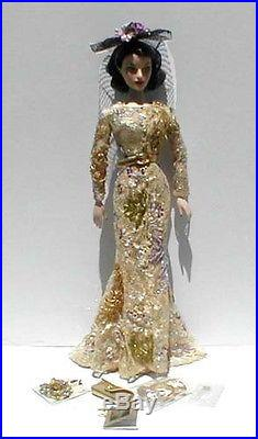 LE 24 Kt Collection Integrity Madra Lord The Jeweled Cat 16 Doll