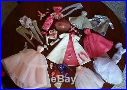 LOT Gowns Gloves Hose Dressmakerr Silkstone Tiny Kitty Fits Poppy NuFace Muse