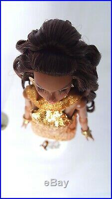 Midas Touch Poppy Parker Doll Fashion Royalty Integrity Toys FR Black Skin Tone