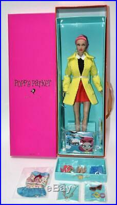 NEW Integrity FR Signed CIAO POPPY PARKER Pink Hair Doll NRFB & Swimsuit