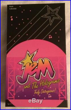 NEW NRFB Integrity Toys Wave 1 Jem and the Holograms CLASSIC JEM Doll with SHIPPER