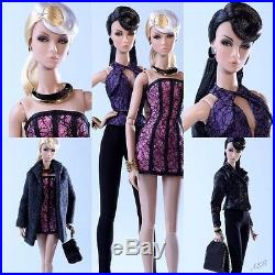 Never Ordinary Twins Eden & Lilith NFRB NU Face Integrity Toys
