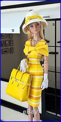 OOAK Fashions for 16 Fashion Royalty / Tulabelle doll /16Poppy Parker-W Zipper