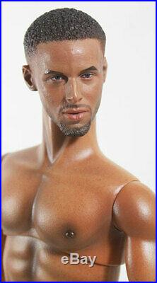 OOAK Integrity African American Homme Fashion Royalty Doll-Anatomically Correct