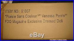Poesie Sans Couleur Vanessa Perrin, MIB, FDQ Magazine Exclusive dressed doll