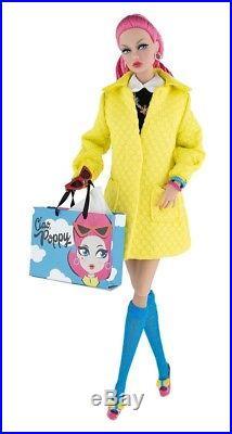Poppy Parker Doll Ciao, Poppy Pink Hair, Bonus Swim Suit