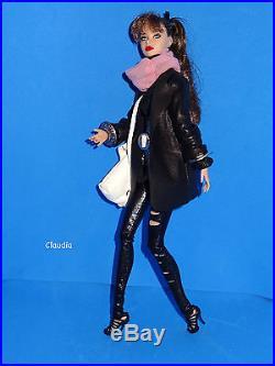 Stunning REPAINT CONEY ISLAND Poppy Parker in OOAK dollsalive outfit STREETWEAR