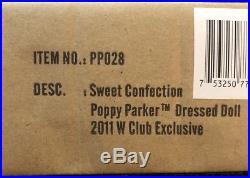 Sweet Confections Poppy Parker- Fashion Royalty- Jason Wu 2011 W Club