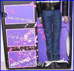 Zipper (Blond) NRFB Jem & the Holograms Integrity Fashion Royalty Homme LE 200